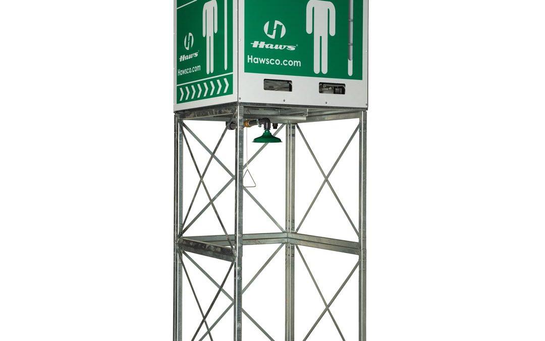 Haws® Cost-Efficient Emergency Overhead Tank Shower