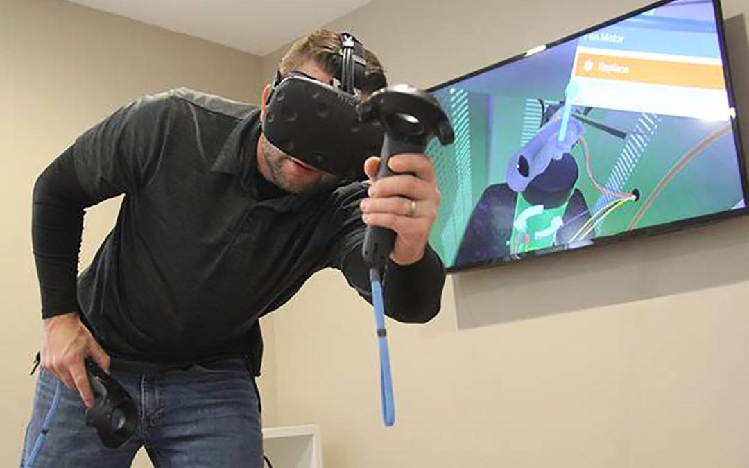 Interplay Learning Virtual Reality Enabled Courses