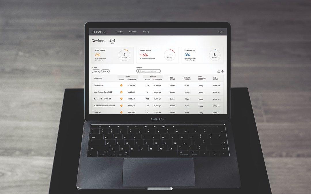 Phyn Plus Launches B2B Dashboard