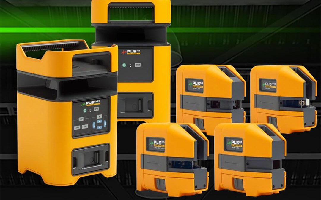 Pacific Laser Systems Launches Rugged New Laser Level Platform