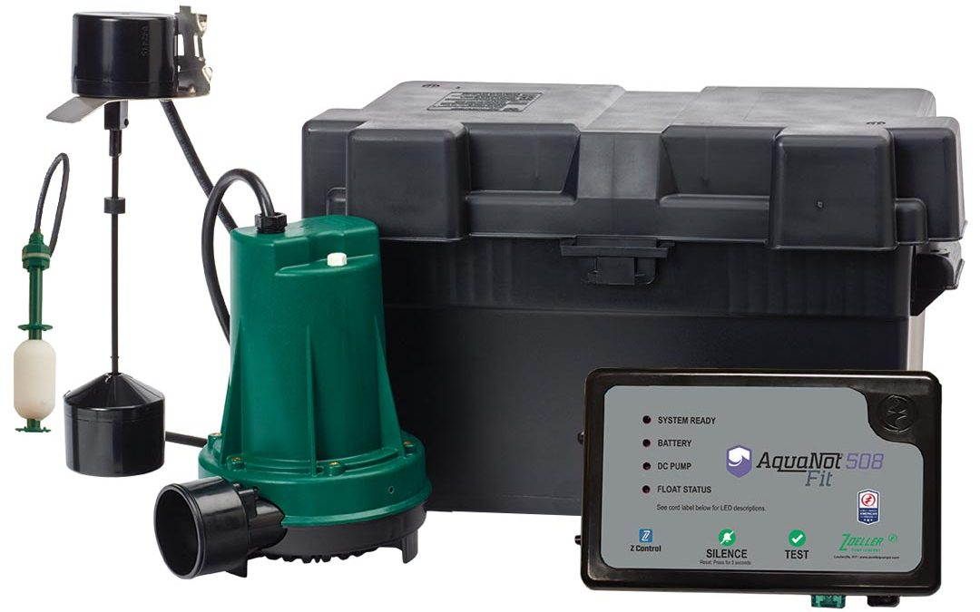 Zoeller's Aquanot Fit 508 Battery Back-up System