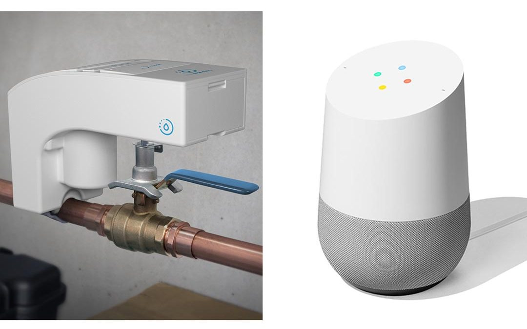 LeakSmart Works with Google Assistant and Amazon Alexa