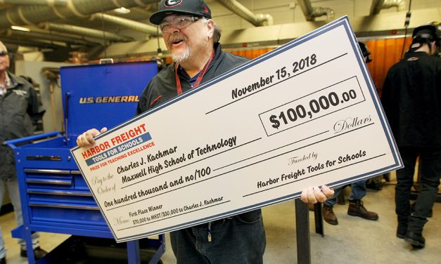 Harbor Freight Awards More Than $1 Million in Prizes to High School Skilled Trades Teachers