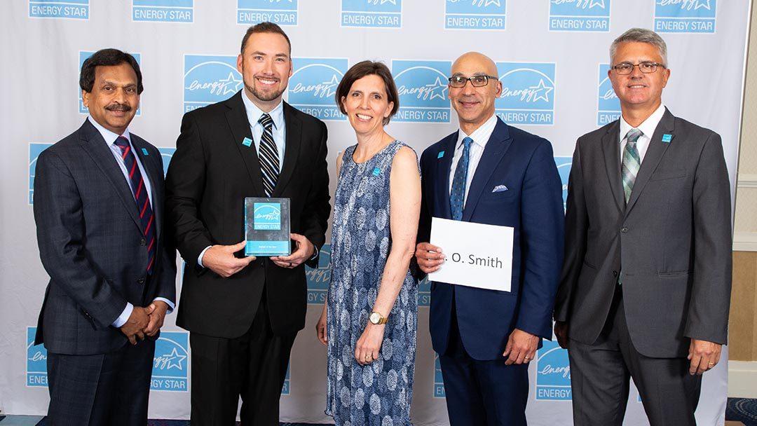 A.O Smith Receives Energy Star Award