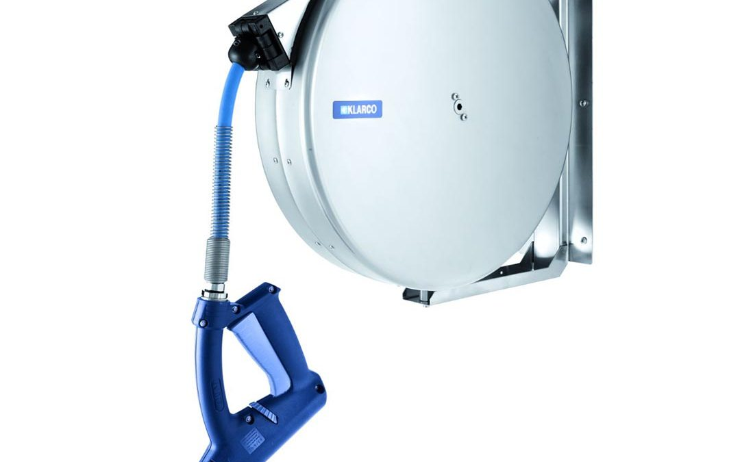 T&S Brass adds 65-foot Klarco hose reel to available line
