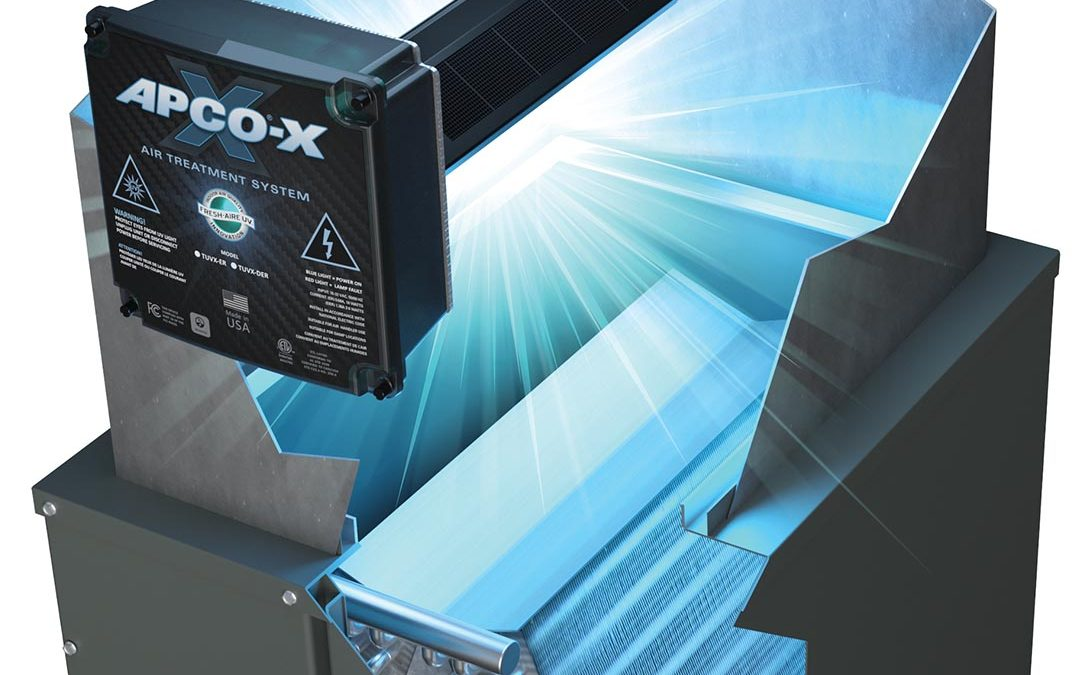 Fresh-Aire UV® Introduces APCO-X for HVAC Systems