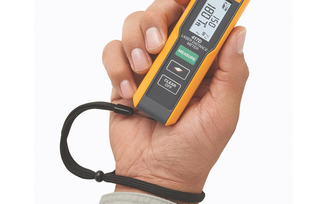 The new Fluke 417D Laser Distance Meter
