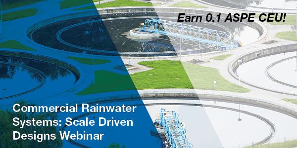 Webinar on Commercial Rainwater Systems