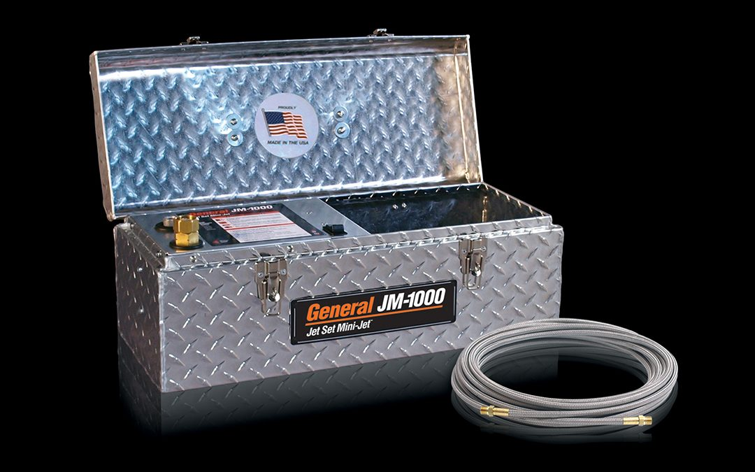 General Compact JM-1000 Mini-Jet™ Now Available With Stainless Steel Braid Hose