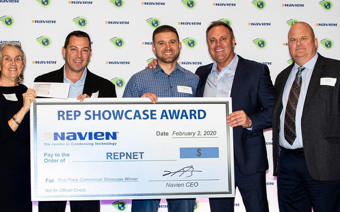 Navien Awards Reps in Orlando Before AHR 2020