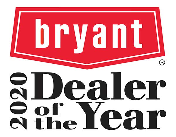 Family Heating and Air Named Bryant Dealer of the Year