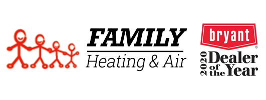 Family Heating and Air Bryant Dealer of the Year 2020