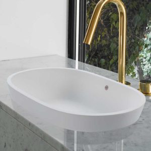 The Leona oval sink basin by MTI Baths