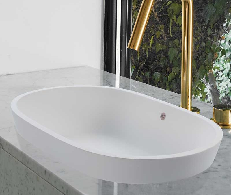 MTI Baths Leona Oval Sink Basin