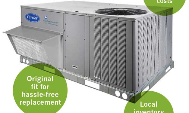 Carrier Introduces Innovative EcoBlue Technology to Weather Series Packaged Heat Pumps