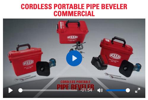 REED Cordless Pipe Beveler Videos