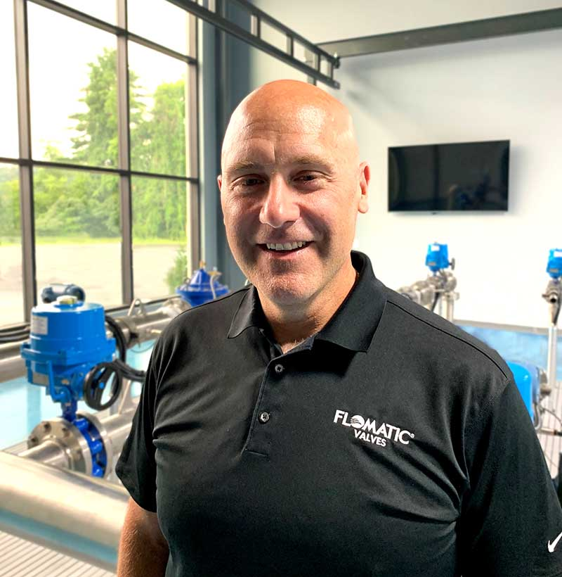Jim Tucci of Flomatic Corporation