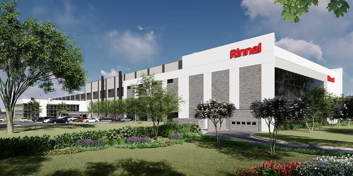 Rinnai America Breaks Ground on New Factory