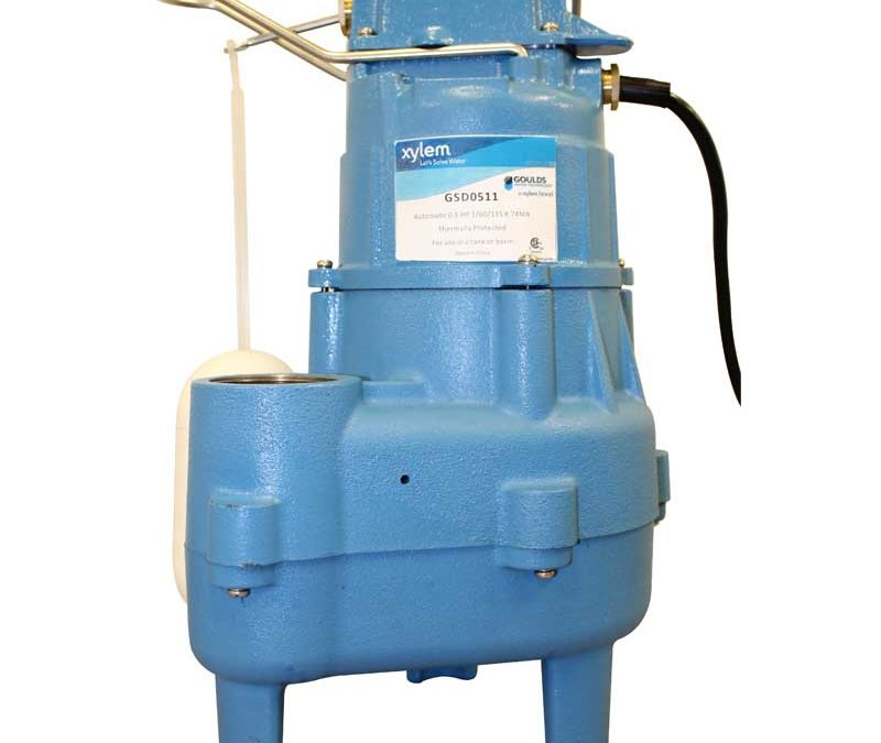 Goulds Water Technology Submersible Sewage Pump