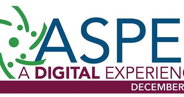 ASPE 2020 is Next Week