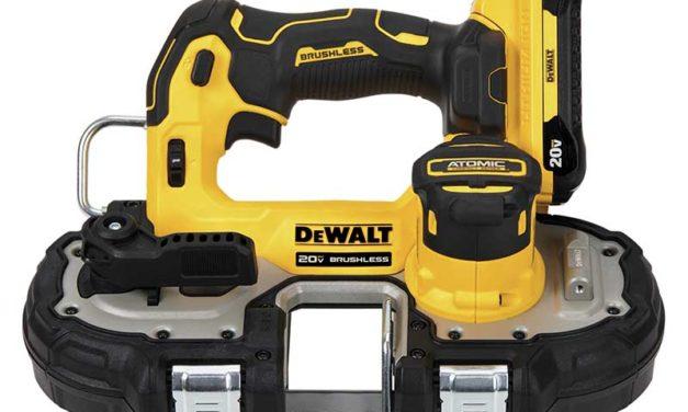 DeWalt Debuts ATOMIC Compact Series Bandsaw