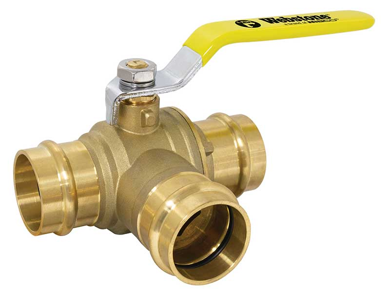 Webstone Pro-Pal 3-Way Ball Valve