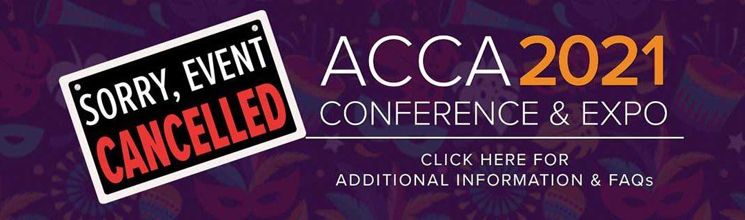 ACCA 2021 Postponed
