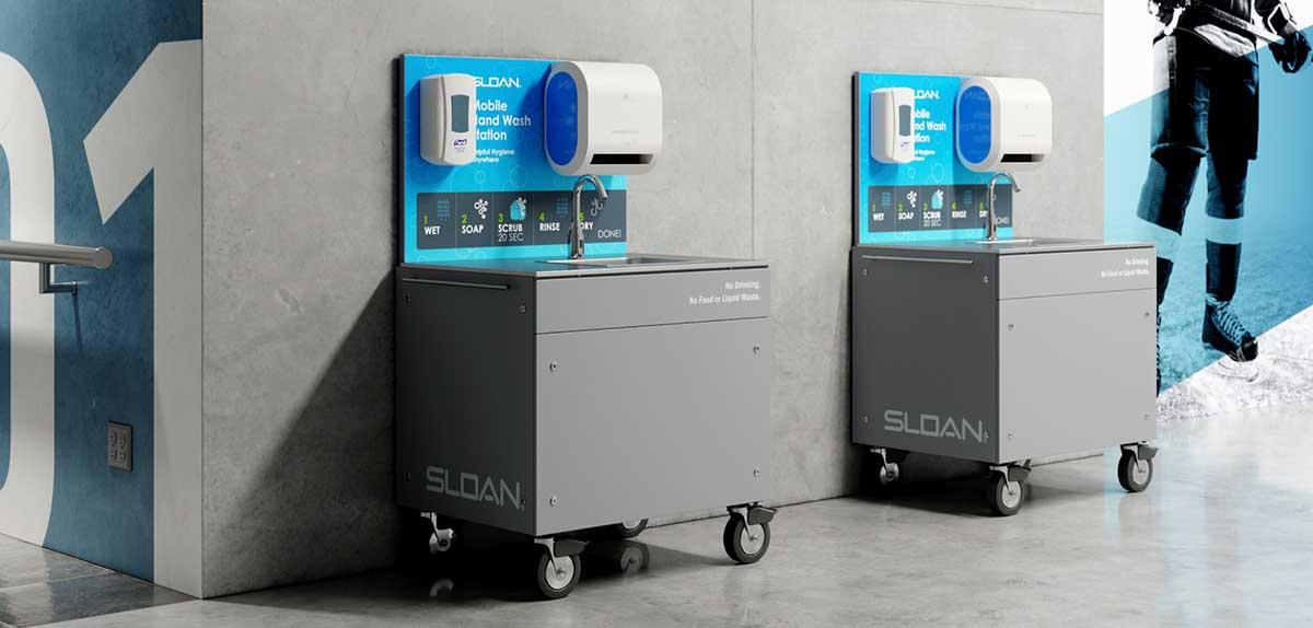 Sloan Mobile Handwashing Stations