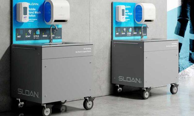 Sloan Launches Mobile Handwashing Stations