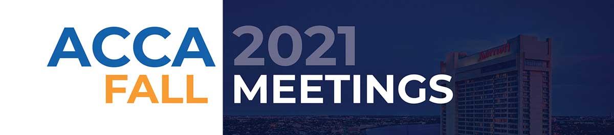 ACCA Meetings