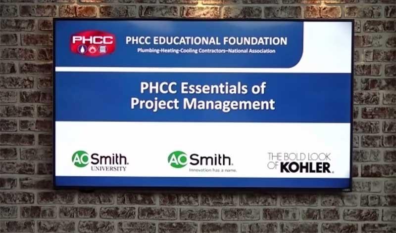 PHCC Essentials Class Sponsors