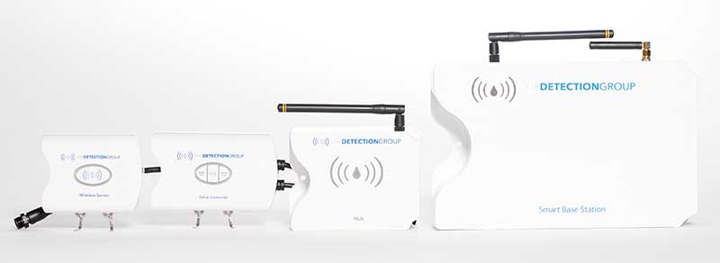 Trident Wireless water leak detection system