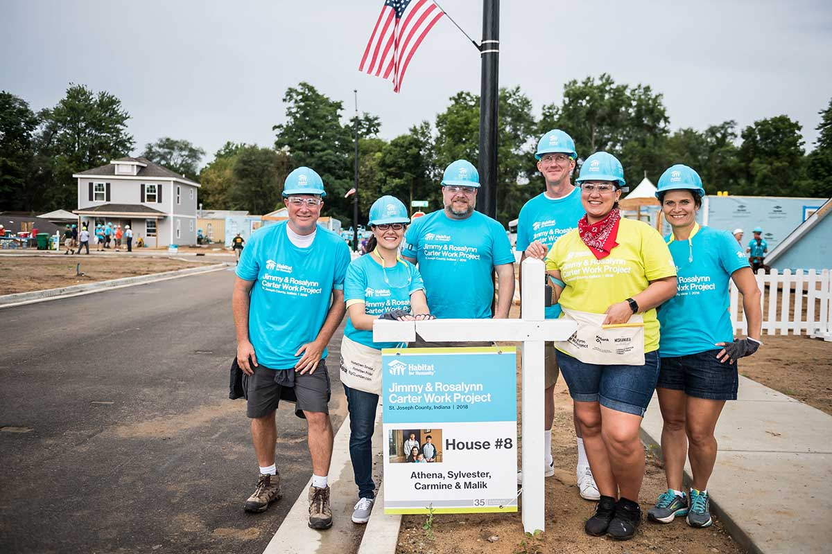 Carrier is supporting Habitat for Humanity International's Home is the Key campaign.