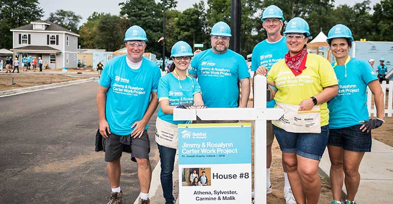 Carrier Supports Habitat for Humanity