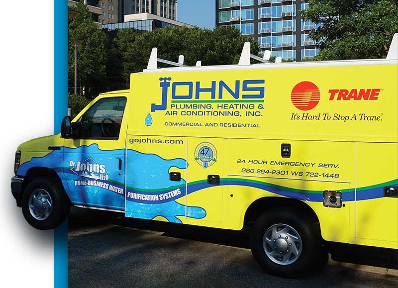 Johns Plumbing Heating & Air Conditioning