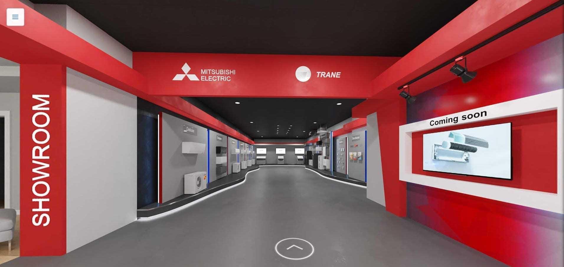 METUS virtual showroom