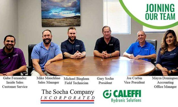 Caleffi Partners with The Socha Company
